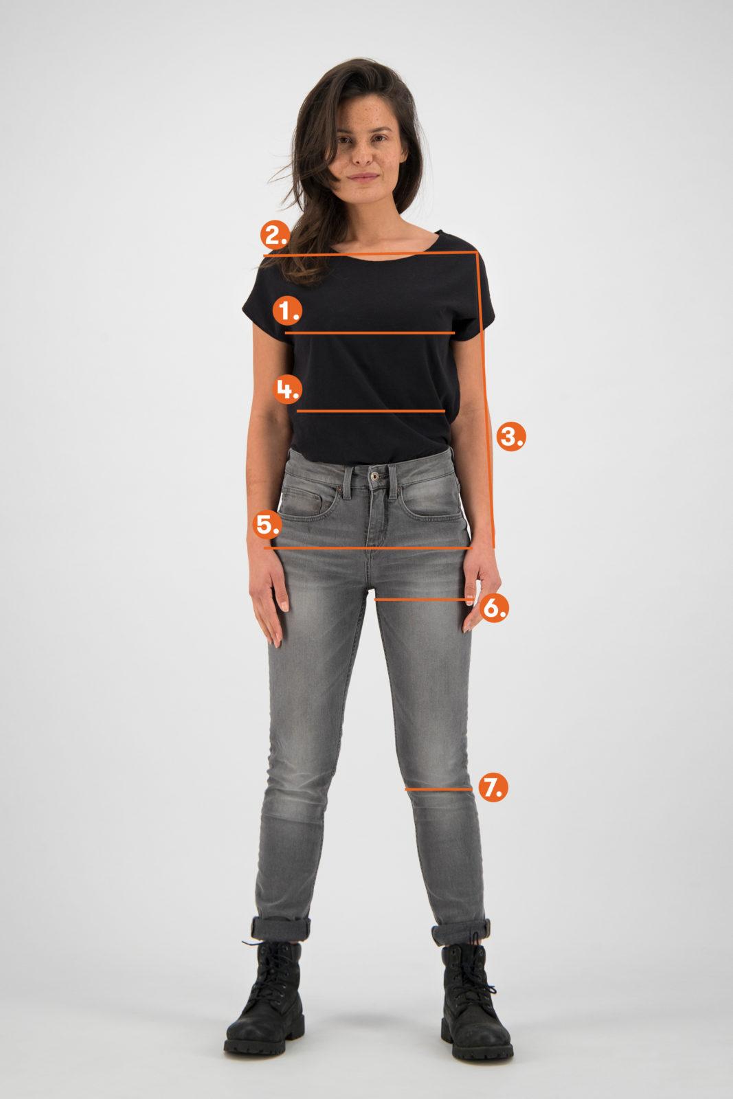 Kuyichi size Women Where to measure